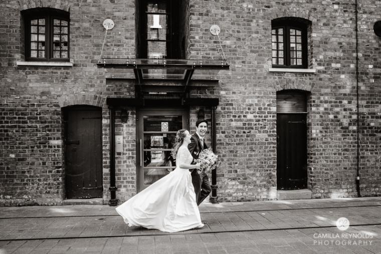 Gloucester docks wedding photography Mariners church (20)