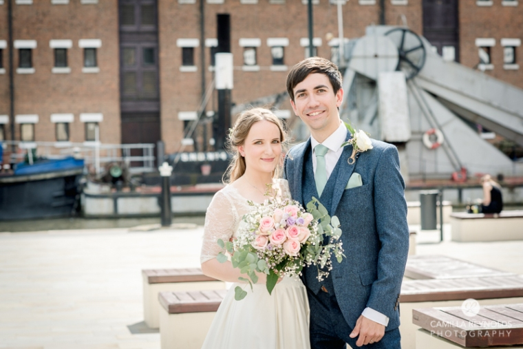Gloucester docks wedding photography Mariners church (21)