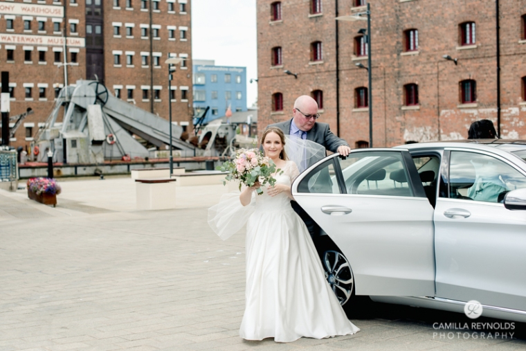 Gloucester docks wedding photography Mariners church (4)