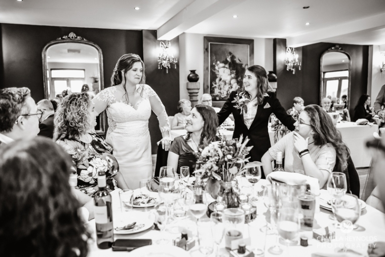 same sex lesbian wedding photography Cotswolds The Old Lodge (56)