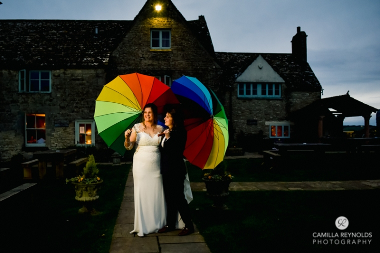 same sex lesbian wedding photography Cotswolds The Old Lodge (63)