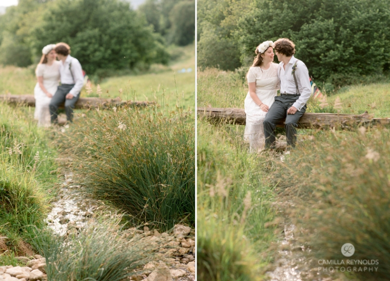 creative wedding photography cotswolds