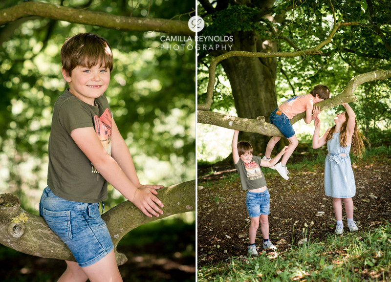 natural relaxed family photography