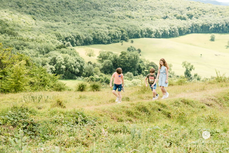 outdoor family photo shoot Gloucestershire