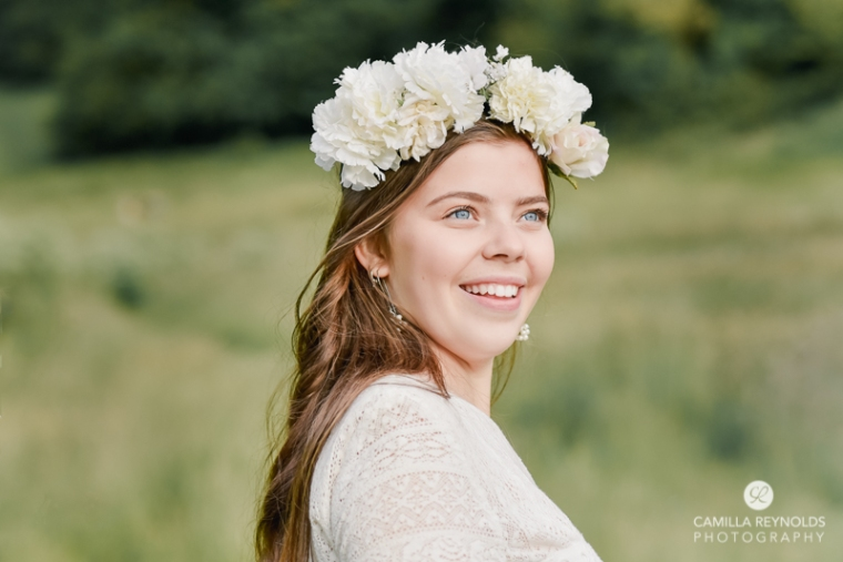 styled wedding shoot boho floral
