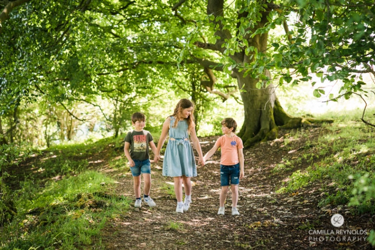 woods family photo shoot Cotswolds