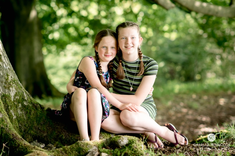 beautiful natural family children photography