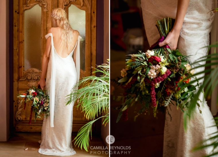 Bride Matara wedding Cotswolds
