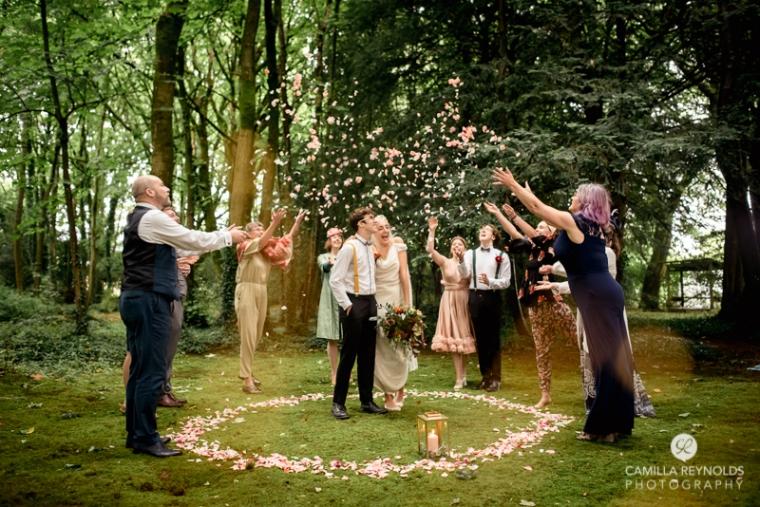 confetti woodland wedding matara cotwold photography