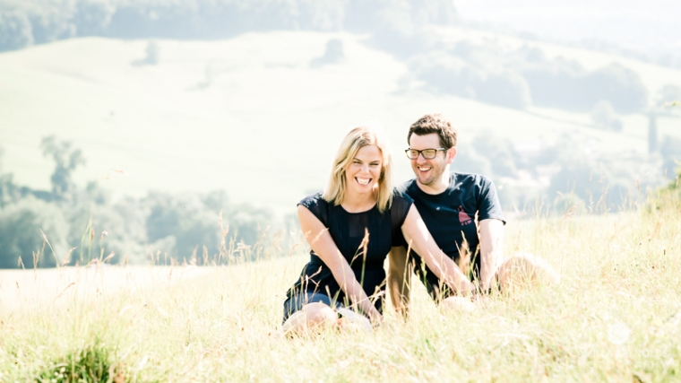 engagement couple photography Cotwolds