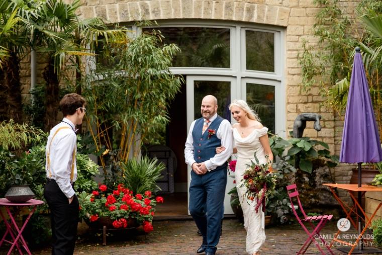 first look wedding matara Cotwolds