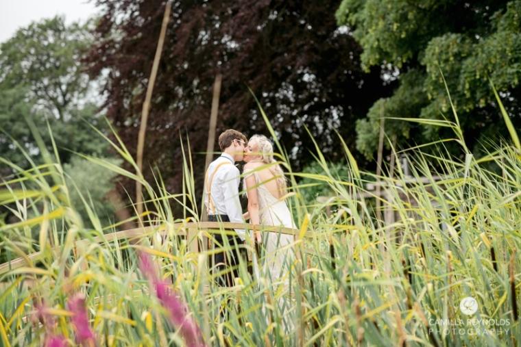lake wedding ceremony photography