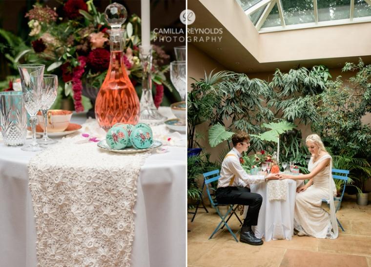 orangery wedding venue matara cotwolds