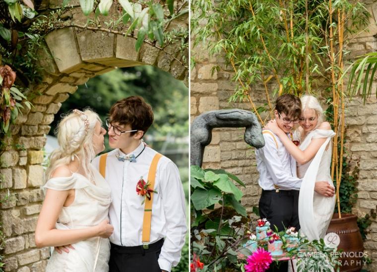 spiritual wedding venue cotwold photographer