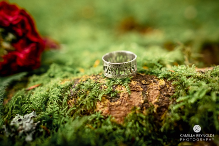 unusual nadmade wedding ring Cotswolds