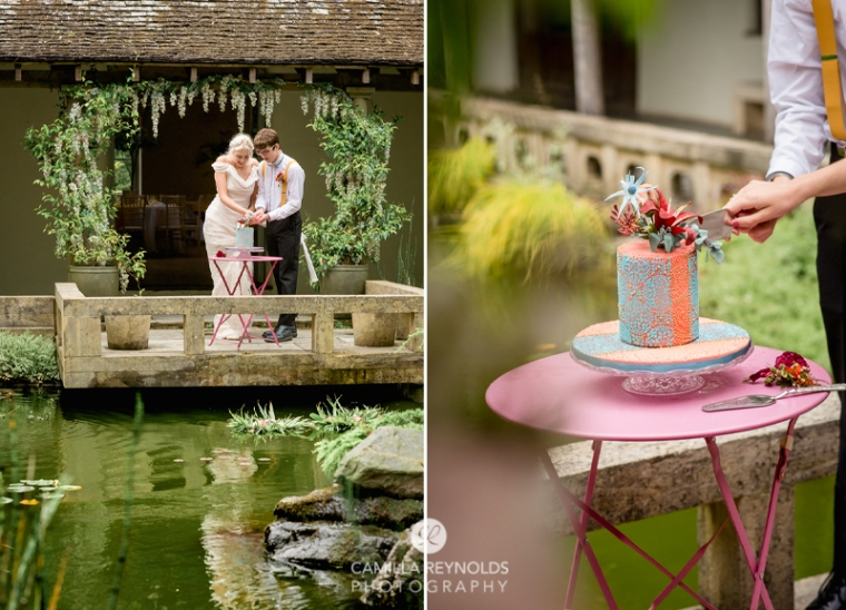 waterside wedding venue cotwolds photography