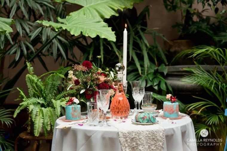 wedding table decor elegant
