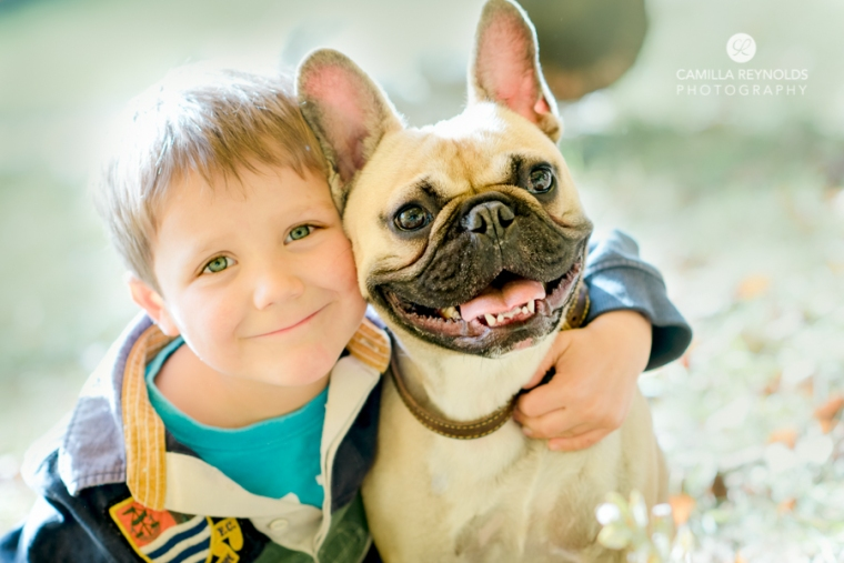 boy and dog natural family children photography Stroud