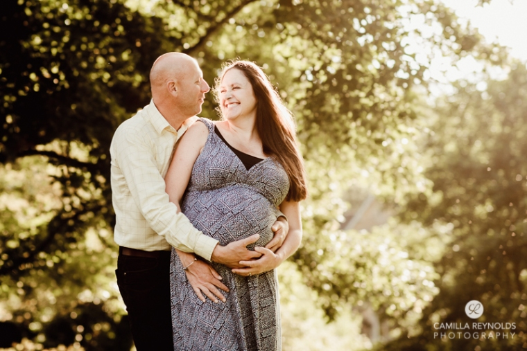 couple maternity session natural photography