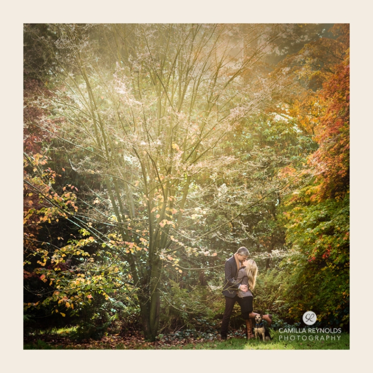 couples pre wedding engagement photo shoot Cotswolds