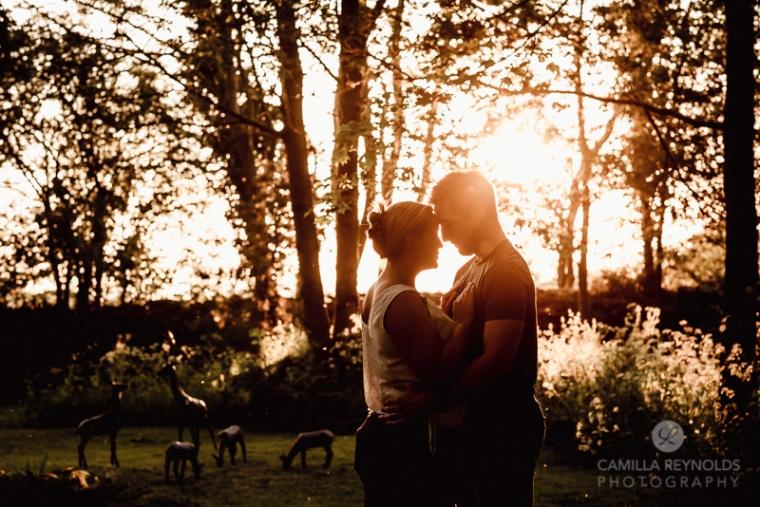 dramatic engagement wedding photography South West photographers