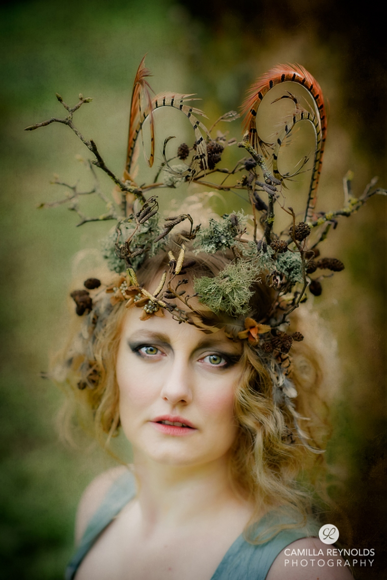 fairy nymph fine art photography Matara Cotswold photographer
