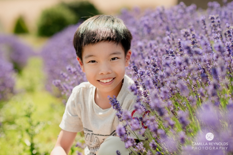 family photographer Cotwolds England UK lavender field