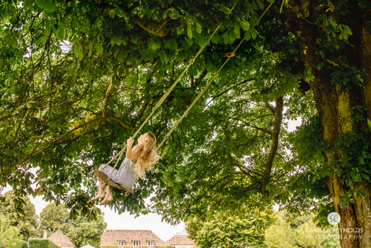 Gloucestershire photographer swing girl