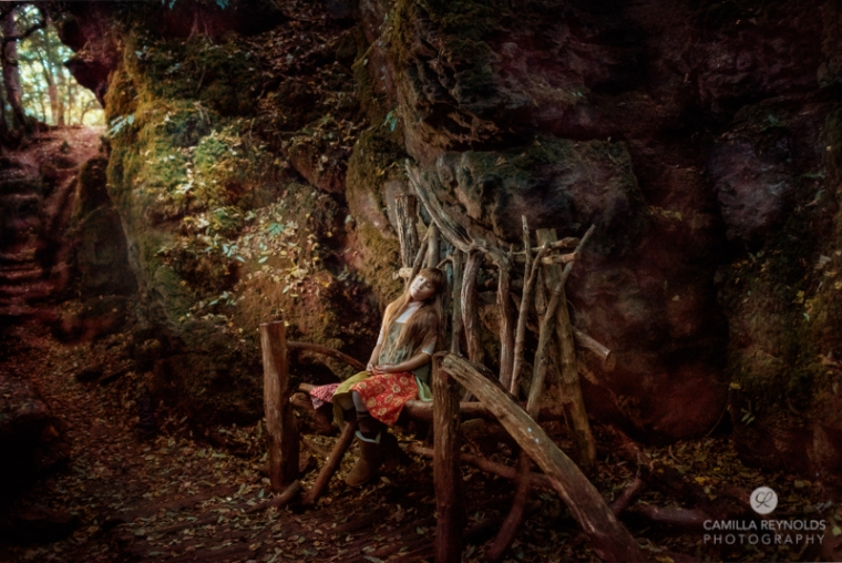 puzzlewood forest of dean England Fine art photography fairy
