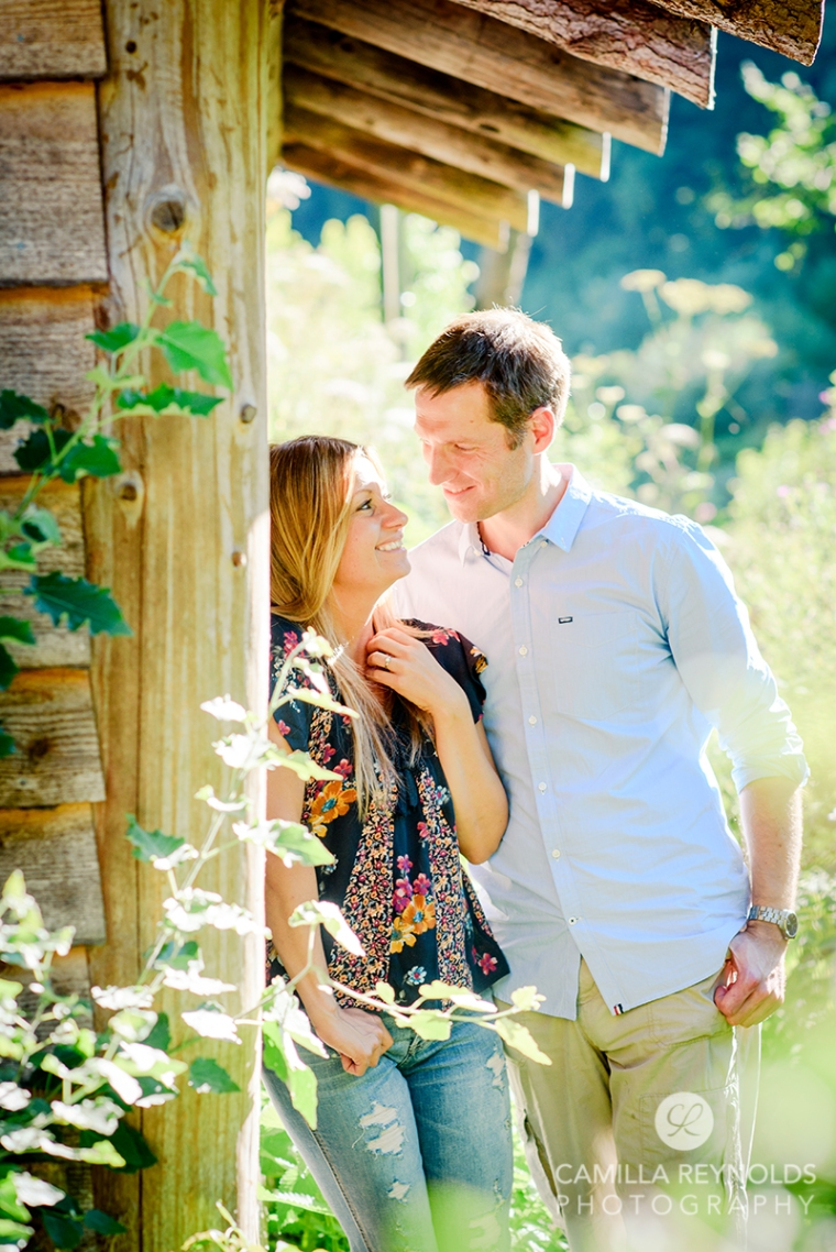 relaxed natural engagemnt pre wedding photos Wiltshire