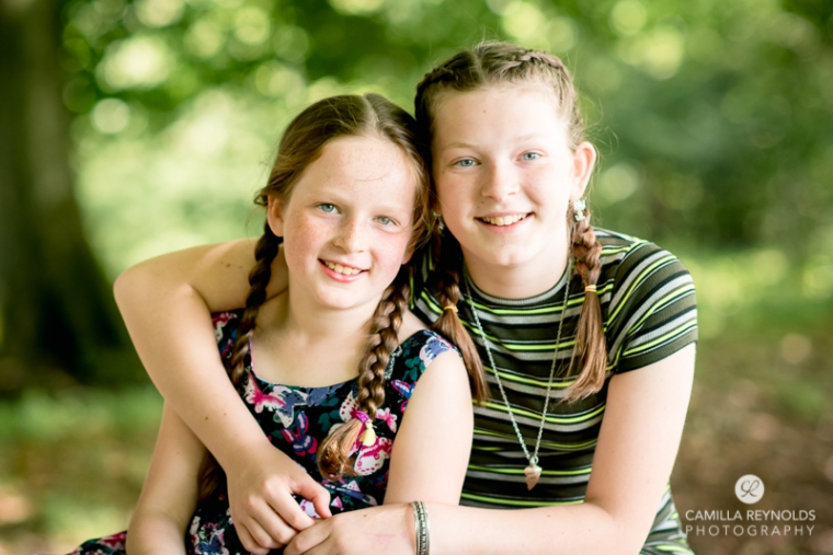 sisters family photography Gloucestershire