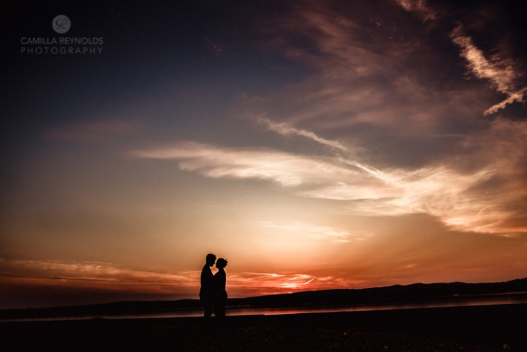 sunset engagemnt wedding photos Cotswolds