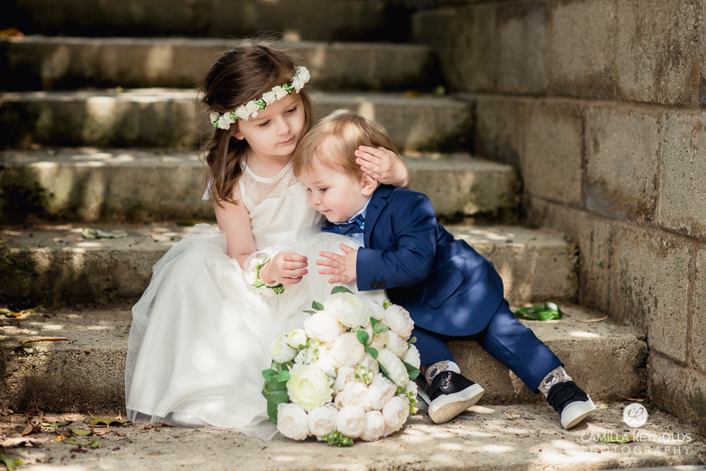 children natural wedding photography Cotswolds