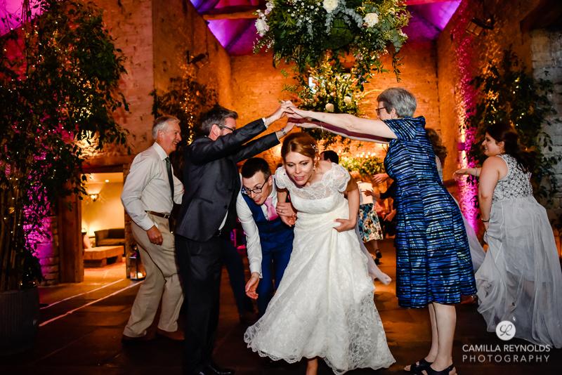 ceilidh dancing wedding Cotswolds