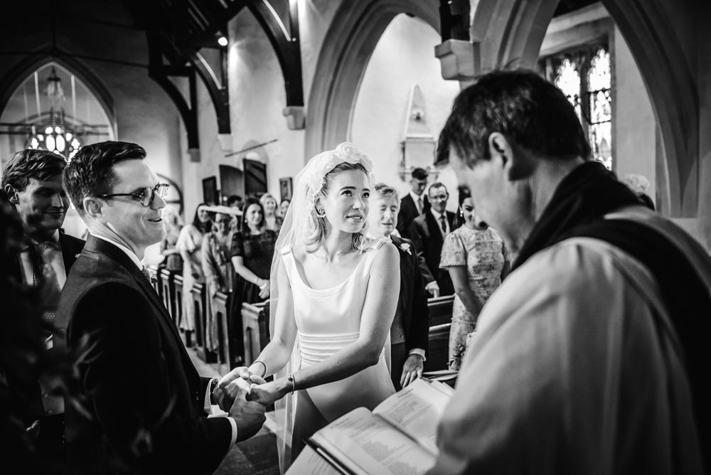 church wedding ceremony natural photography barnsley cotswolds uk