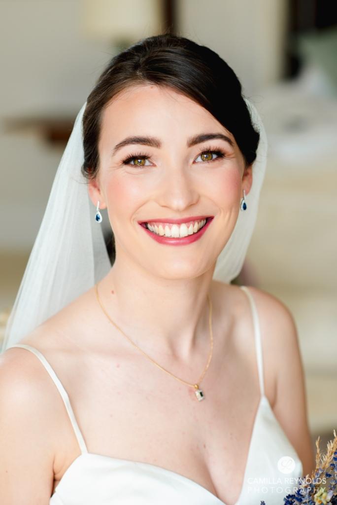 beautiful bride portrait camilla reynolds photography