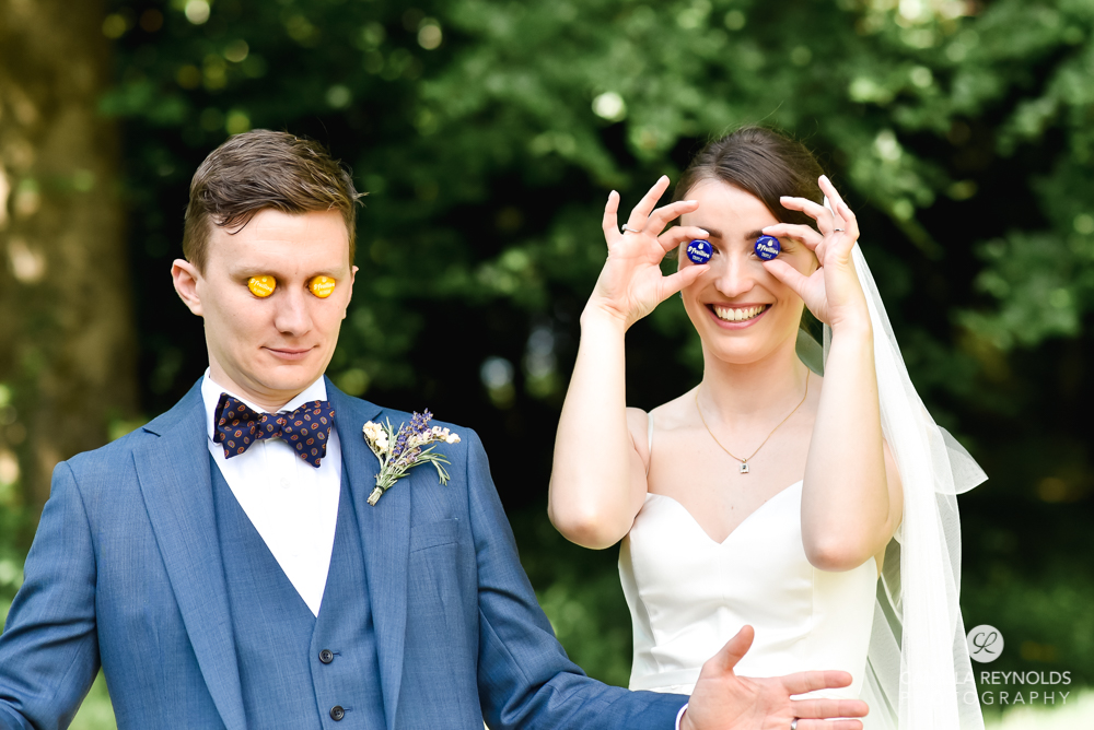 silly wedding shot ideas fun creative photography cotswolds