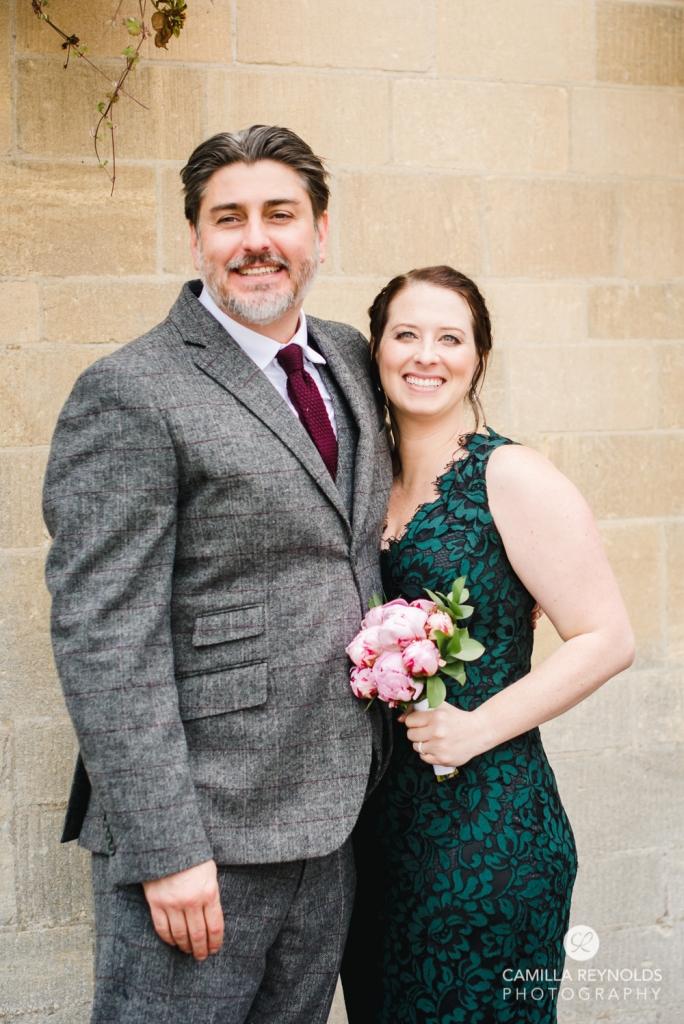 bride and groom micro wedding stroud registry