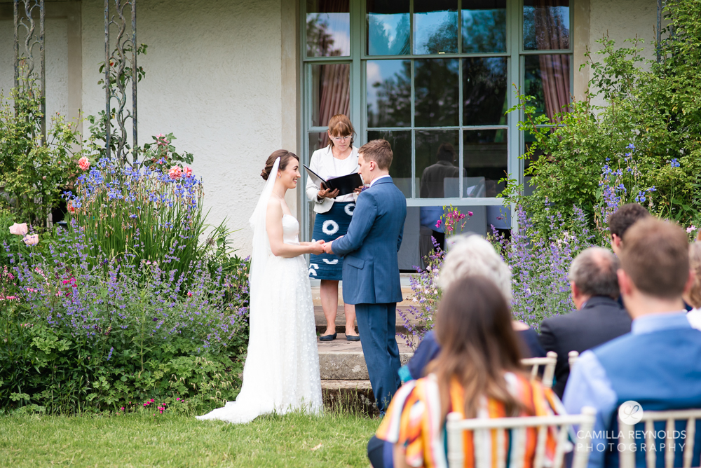 wedding vows garden ceremony matara cotswolds