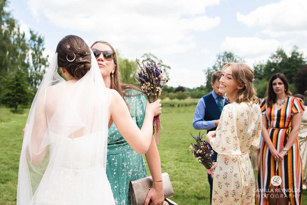 wedding reception natural photography  cotswold wedding