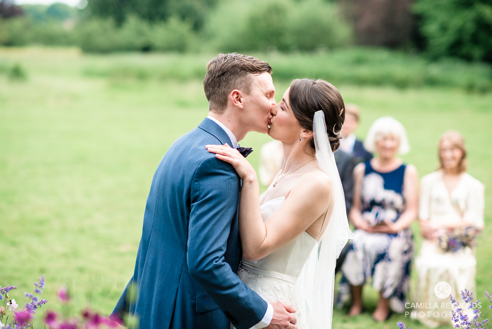 first kiss natural wedding photography worcestershire