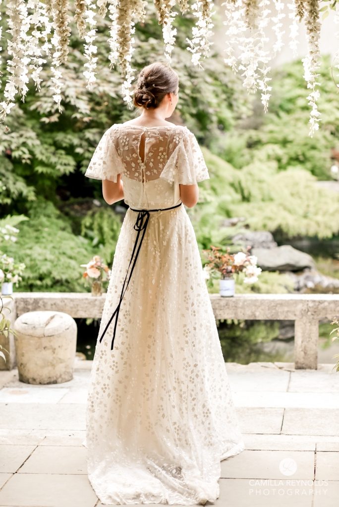 romantic wedding dress with sleeves cotswold bride