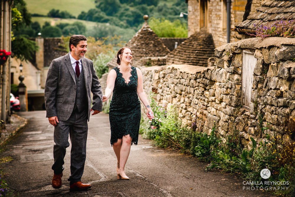 couple laughing cotswolds natural wedding family photography