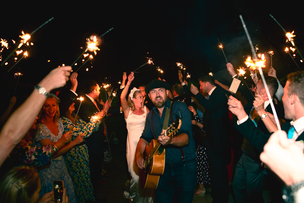 wedding sparklers fun relaxed luxury photography cotswolds uk