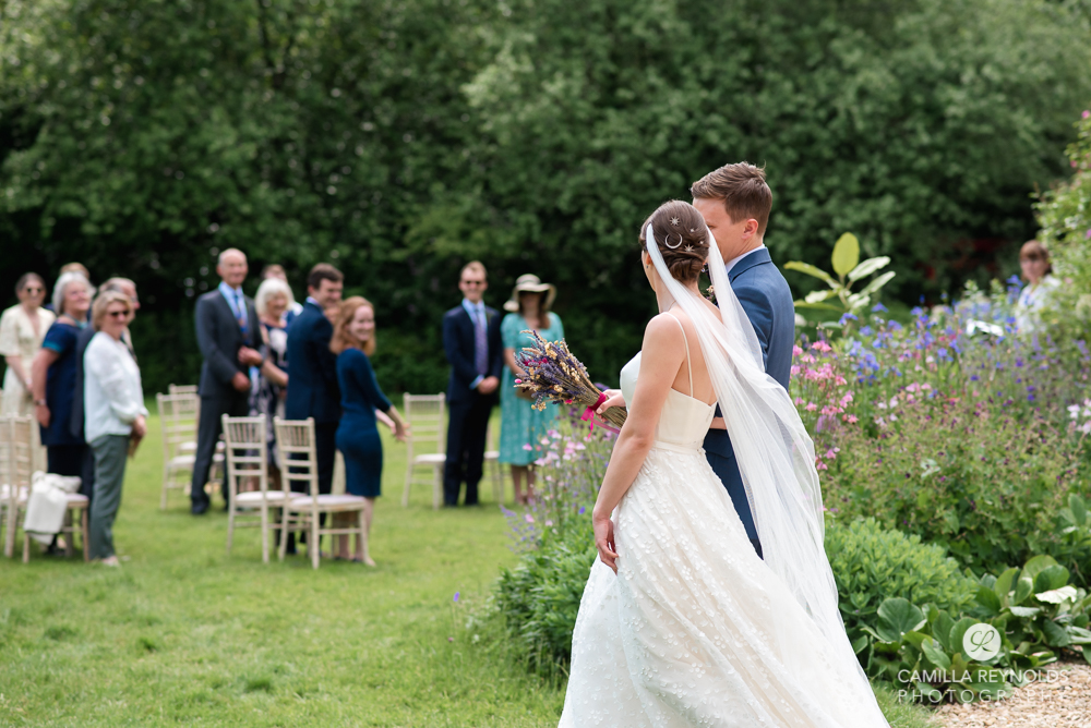 bride groom walking matara cotswolds