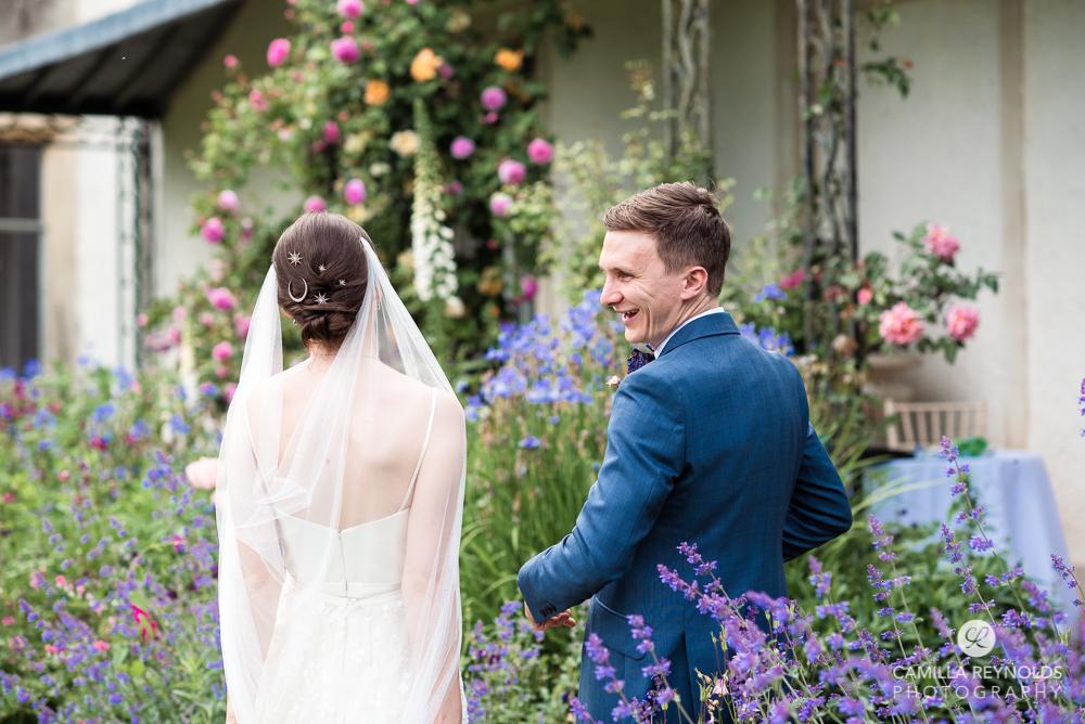 two photographers wedding ceremony cotswolds uk