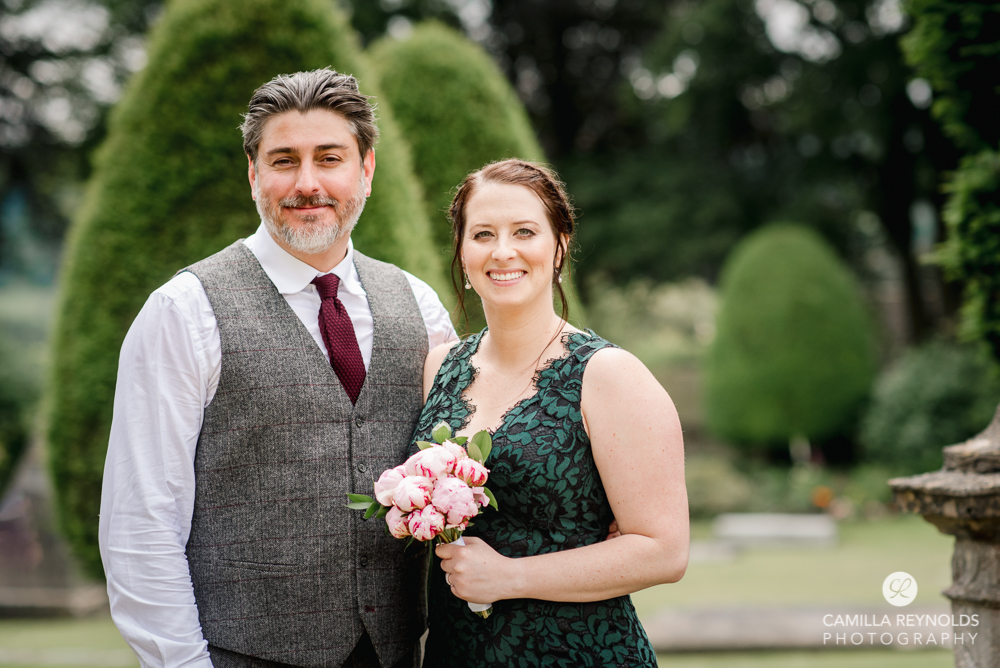 bride and groom cotswold natural wedding photographer