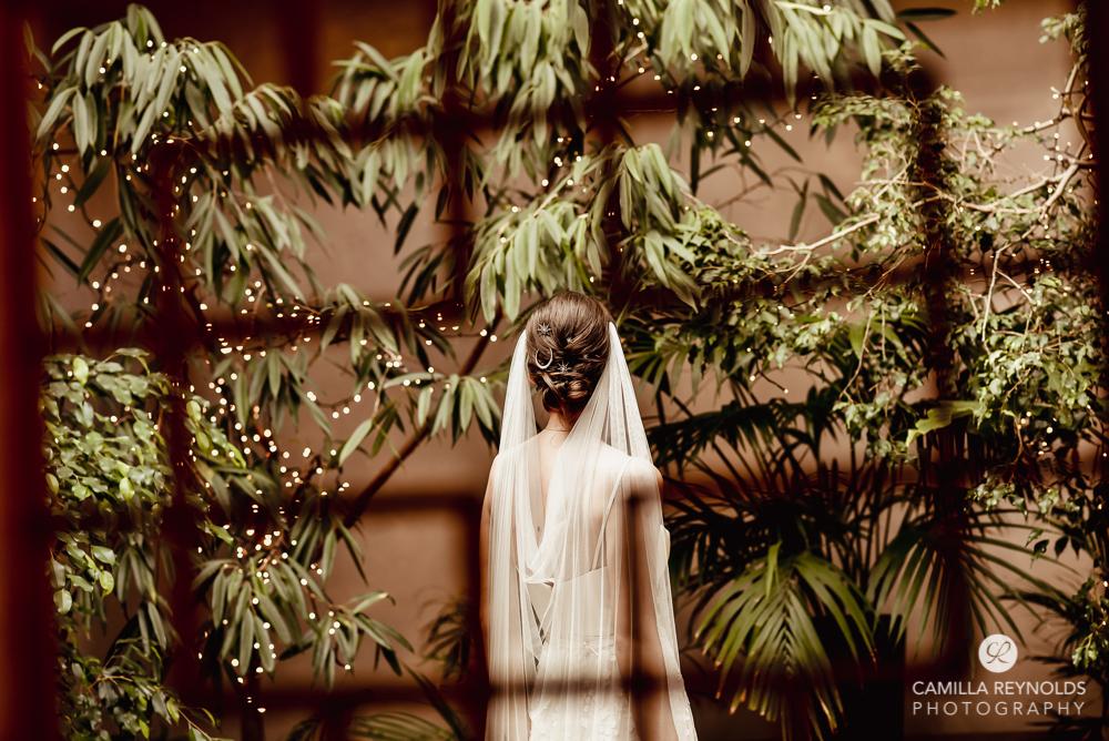 wedding styling fairy light cascading veil cotswolds photography