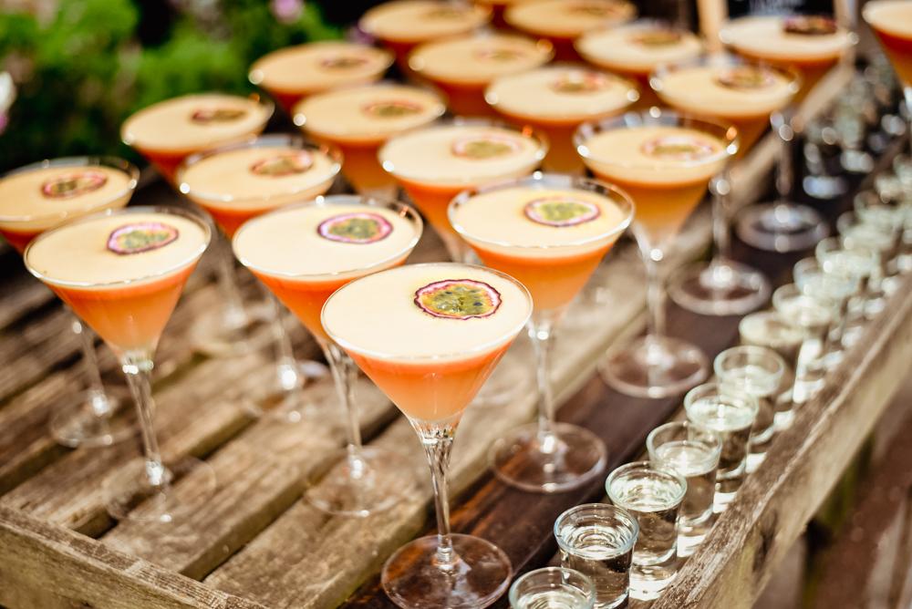colourful cocktails vibrant wedding photography oxfordshire  uk