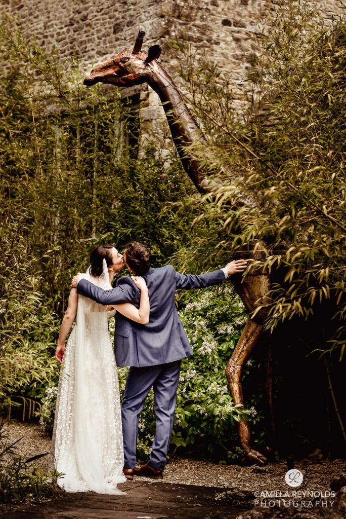 giraffe statue matara centre unique wedding venue cotswolds